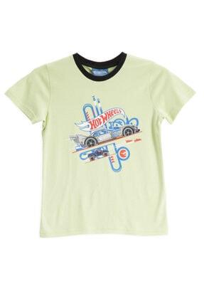 HOT WHEELS Lisanslı Lime Erkek Çocuk T-shirt