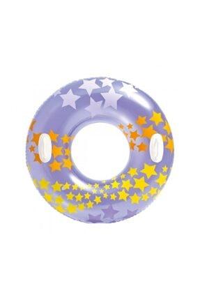 Intex Yıldız Desenli Tutamaçlı Simit