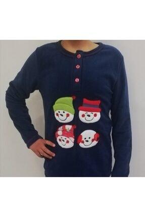 Haluk Bayram Ba Ha Polar Pijama Takımı Lacivert
