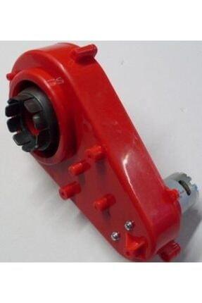 PİLSAN Akülü Araba Şanzuman 12 V Kırmızı Motorlu Şanzıman