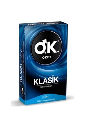 Dünya Okey Klasik Prezervatif 10lu