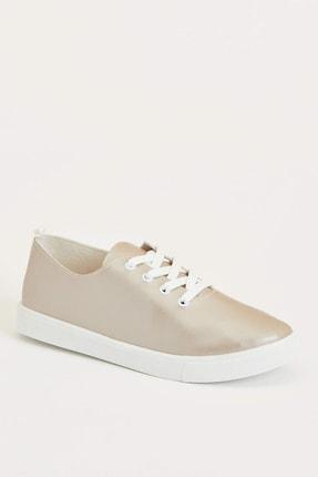 DeFacto Kadın Altın Bağcıklı Sneaker Ayakkabı N5592AZ.20SP.GD1