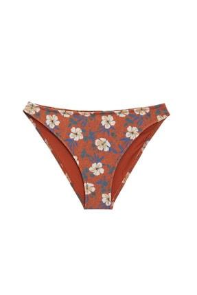 DeFacto Kadın Bordo Desenli Bikini Altı N4767AZ.20SM.BR42