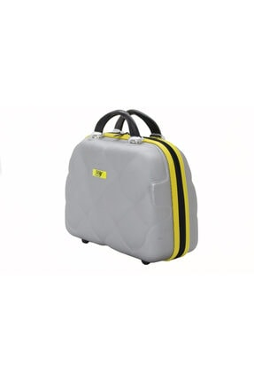 MY SARACİYE My Luggage 50135 Gri Bakalit Seyahat Makyaj Çantası