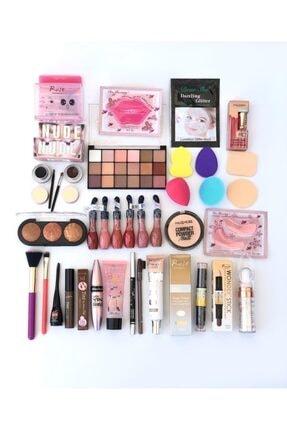 Roesıa Rose Cosmetics Rose Gelin Makyaj Seti 32 Parça Çeyiz Paketi