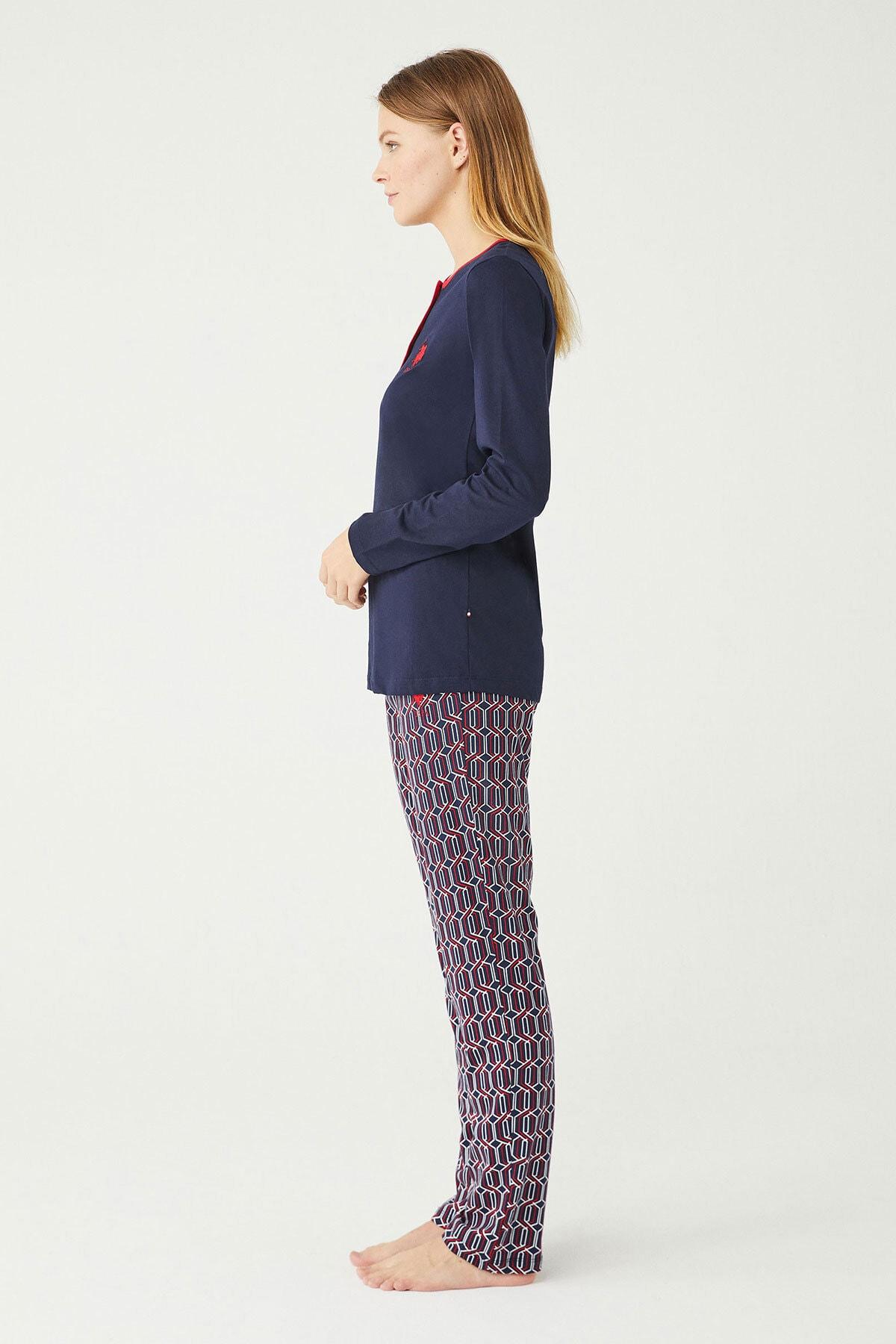 U.S. Polo Assn. U.s Polo Assn. Bayan Pijama Takımı 16389 2