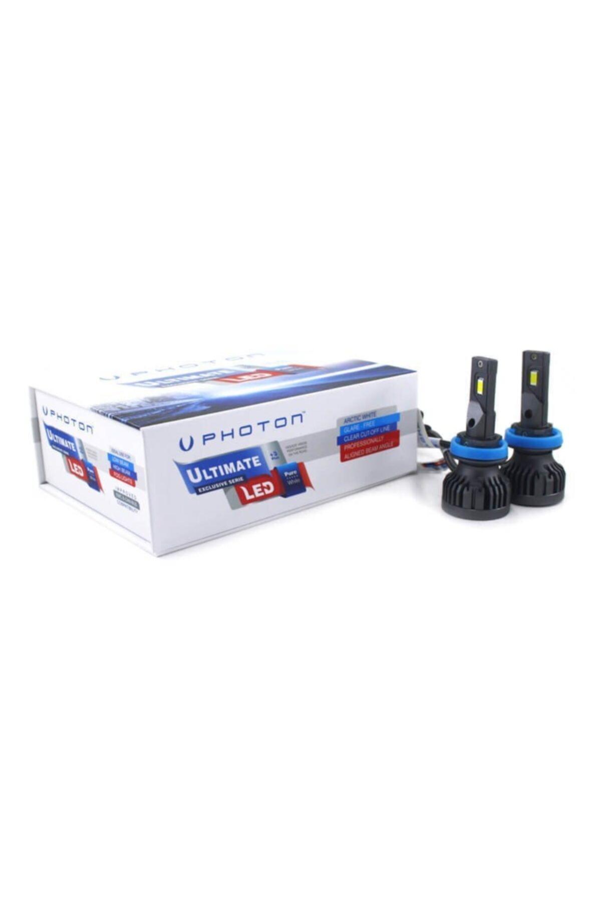 Photon H11 Led Xenon 9500 Lumens Ul2329-h11 1