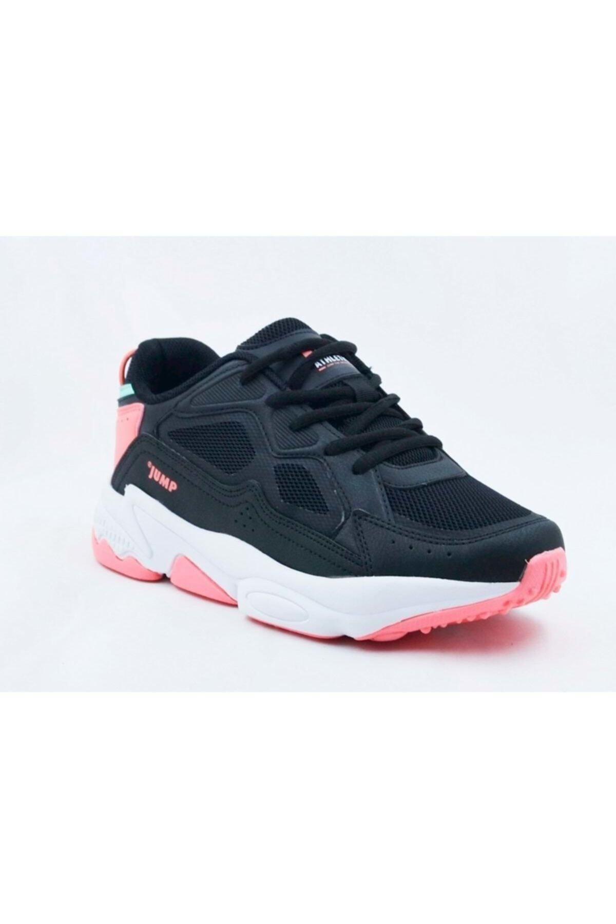 Jump Kadın Siyah Spor Ayakkabı 24711 1