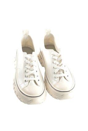 Oblavion Kadın Beyaz Kanvas Sneaker