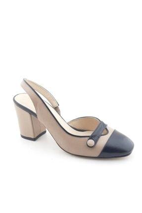 VİNİCCİ AYAKKABI Kadın Ten Rengi  Deri Ayakkabı