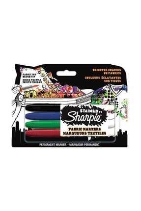 Sharpie Sharpıe Set Tekstil Kalemi Staıned 4 Lü /