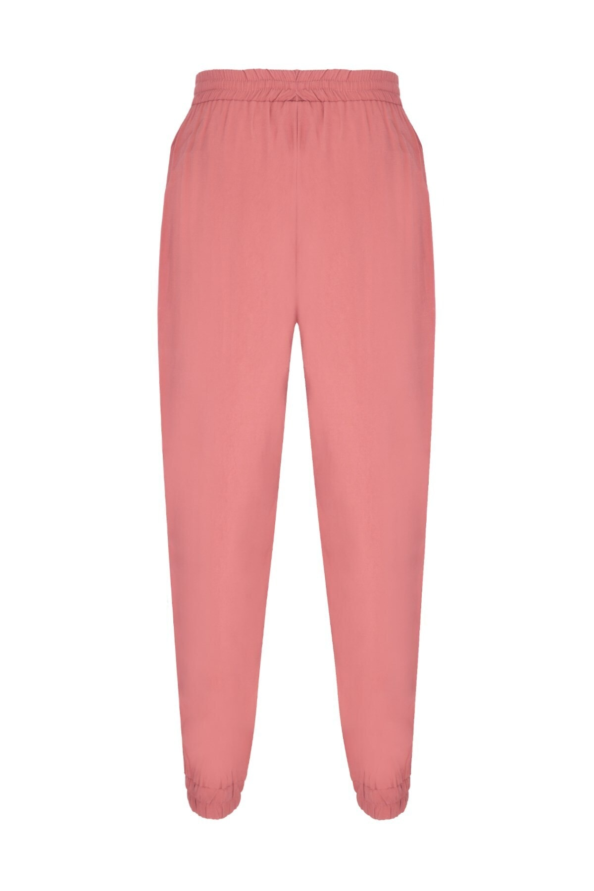 Oblavion Kadın Gülkurusu Beli Lastikli Pantolon 2