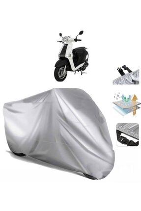 CoverPlus Mondial 50 Revival Motosiklet Brandası Motor Branda (bağlantı Tokalı)