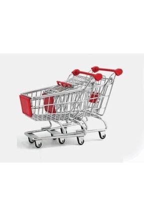 Çokuygunuz Minyatür Market Arabası Alışveriş Sepeti Kalemlik Asorti