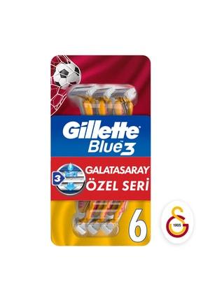 Gillette Blue3 6'lı GS taraftar paketi