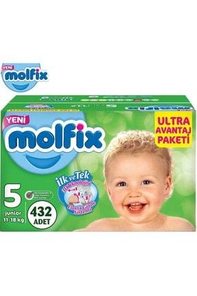 Molfix Bebek Bezi Ultra Avantaj Beden:5 (11-18kg) Junior 432 Adet