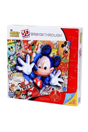 Mega Puzzles Neco Mickey 3d Puzzle Breakthrough -4