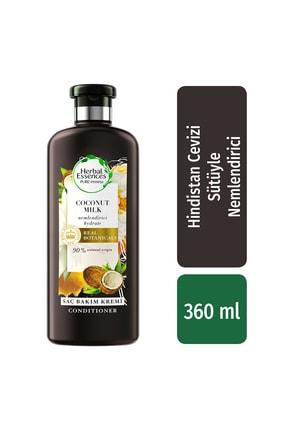 Herbal Essences Saç Bakım Kremi Nemlendirici Hindistan Cevizi Sütü 360 Ml