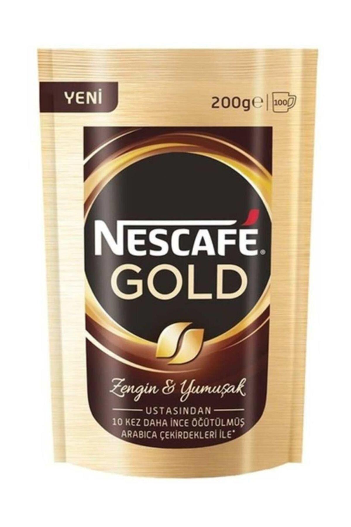 Nescafe Gold Poşet Kahve 200 gr 1
