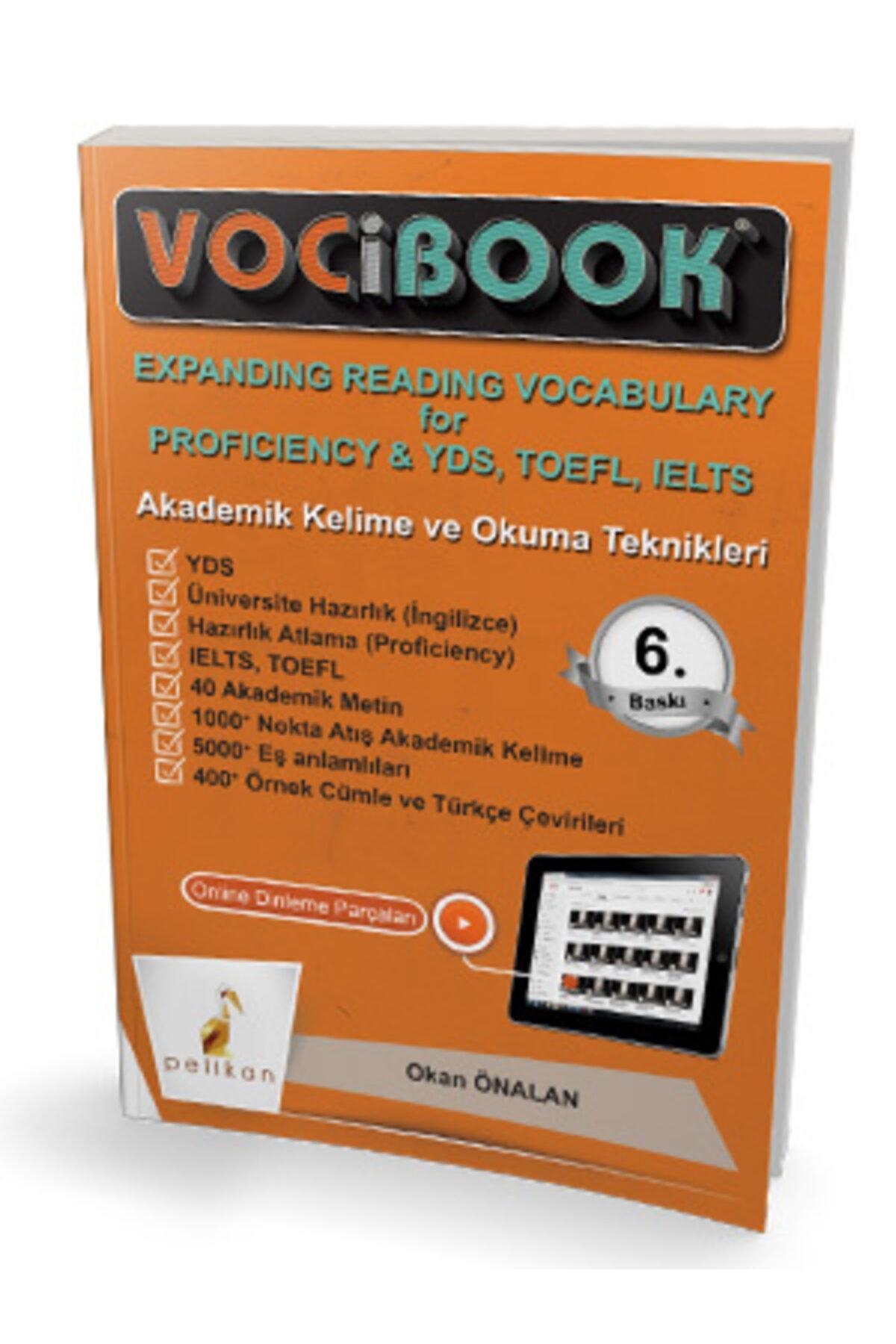 Pelikan Kitapevi ?pelikan Yayıncılık Vocıbook Akademik Kelime Ve Okuma Teknikleri 1