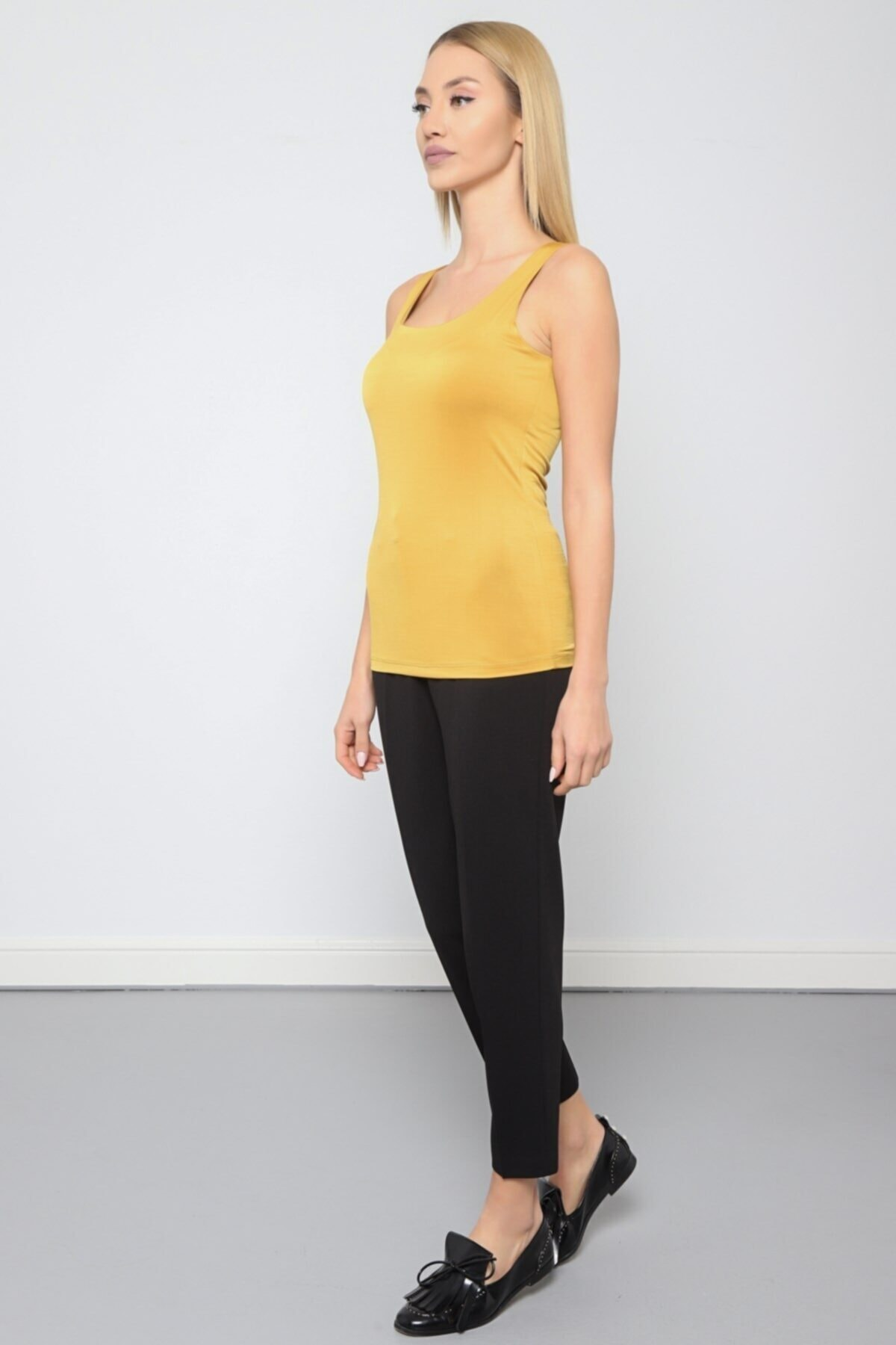 Journey Kadın Sarı Body 2
