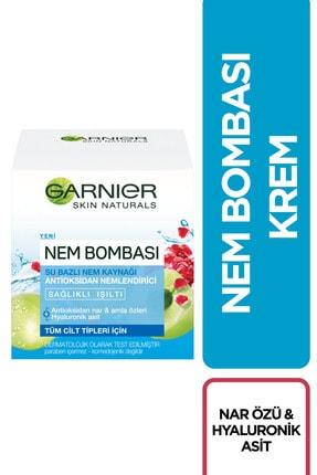 Garnier Tüm Cilt Tipleri Için Su Bazlı Nemlendirici Krem 50 Ml 3600542028141