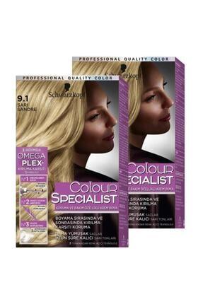 Colour Specialist 9-1 Sarı Sandre X 2 Adet