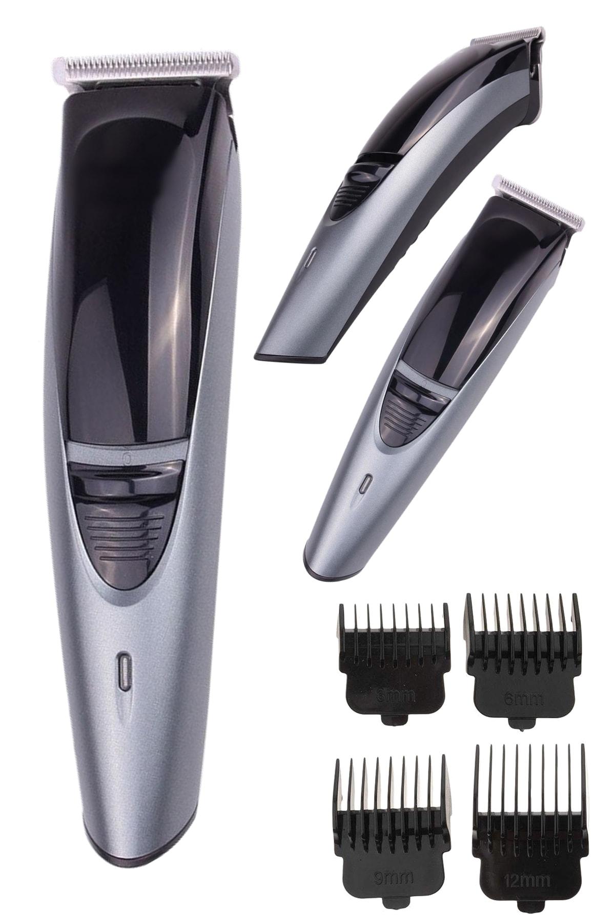 yopigo 6053 Erkek Tıraş Bakım Seti Şarjlı Saç Sakal Kesme Erkek Tıraş Makinesi 1