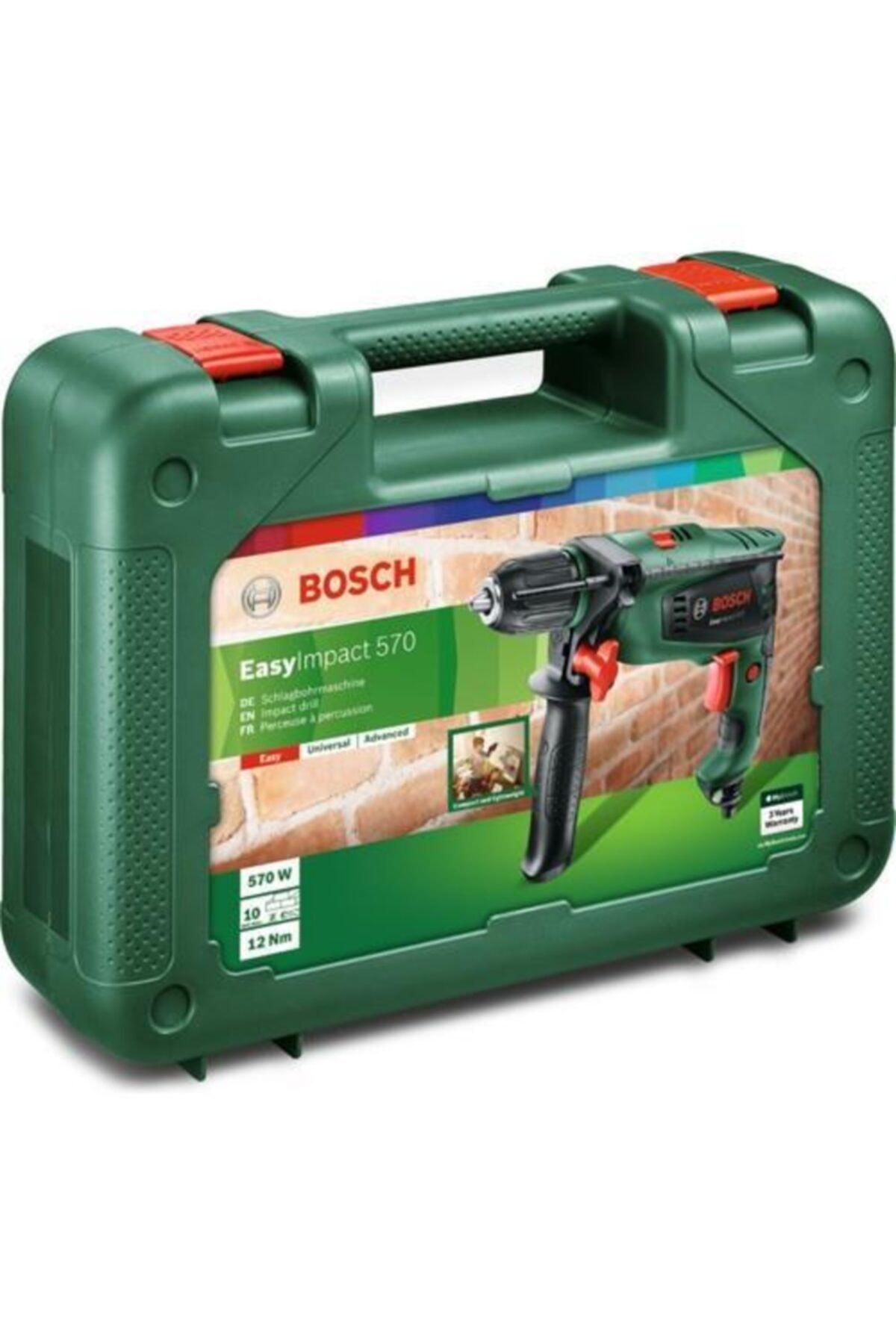 Bosch Easyımpact Darbeli Matkap 570w 2