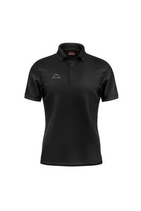 Kappa Erkek Siyah Maltax Polo T-shirt