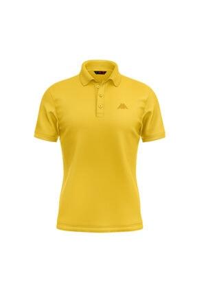 Kappa Erkek Sarı William Rdk Polo T-shirt