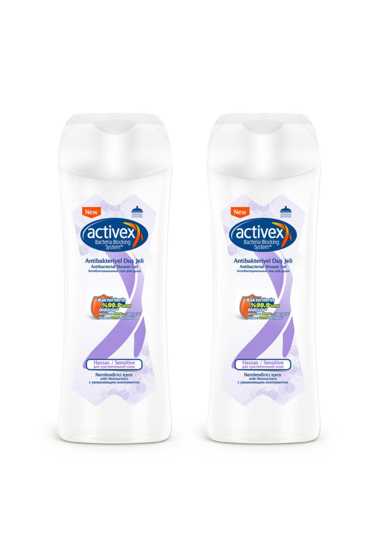 Activex Antibakteriyel Duş Jeli Hassas 2x450ml 1