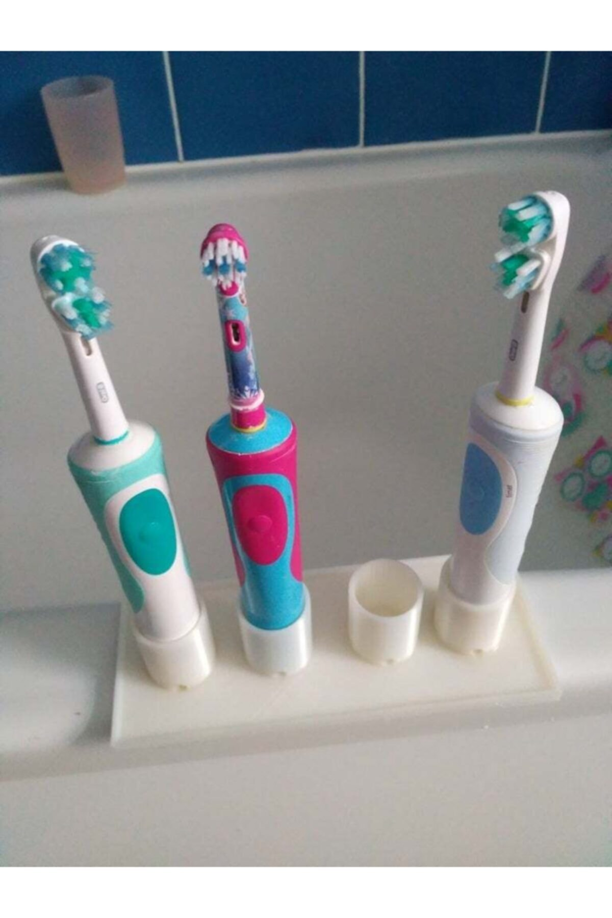 AldımGeldi Diş Fırçası Standı Tutucu Askısı Standı Aparatı Organizer 1