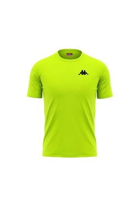 Kappa Erkek Yeşil Poly Bux T-shirt