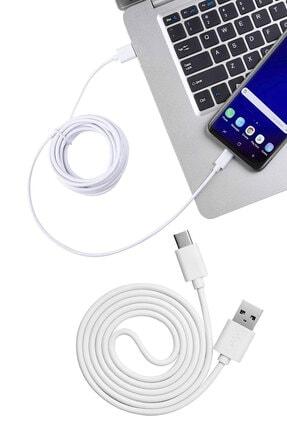 Escom Type-c 3 Metre Kablo Samsung Galaxy A50 Hızlı Şarj Data Kablosu