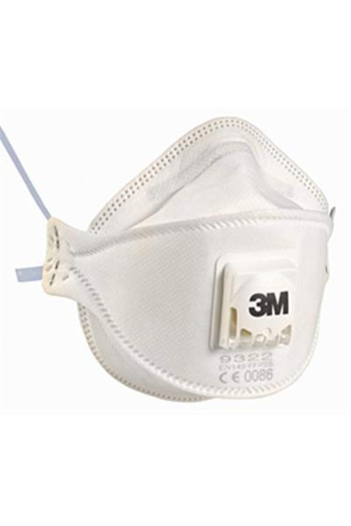3M 9322+ Aura Ffp2 Solunum Koruyucu Maske 1 Adet 1