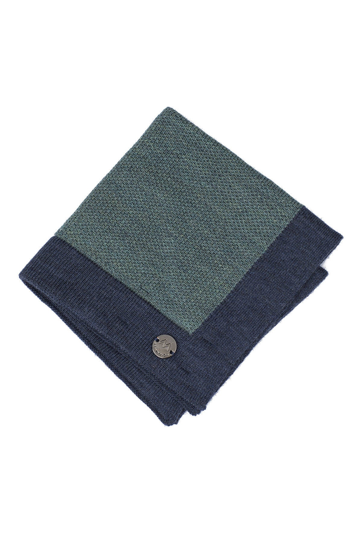 Hemington Yeşil Açık Yeşil Örgü Ceket Mendili 2