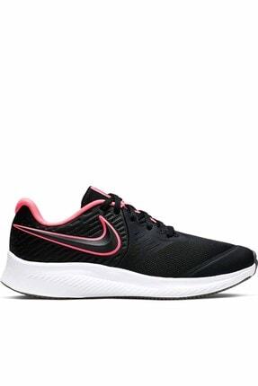 Nike Kids Kadın Siyah Spor Ayakkabı Star Runner 2  Aq3542-002