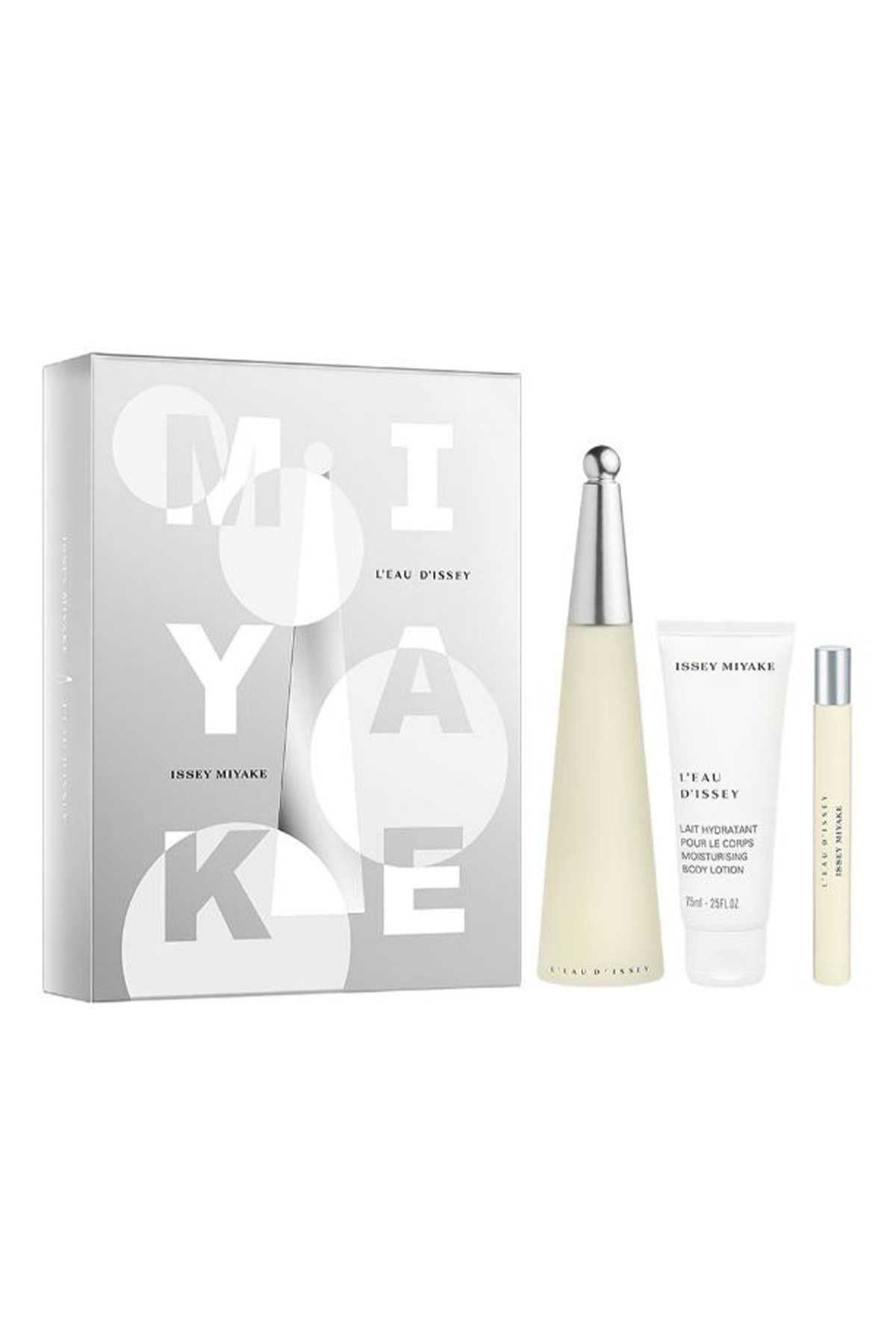 Issey Miyake L'Eau D'Issey Edt 100 ml + Body Lotion 75 ml + Edt 10 ml 3423478973251
