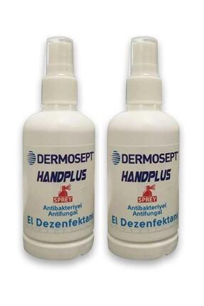 DERMOSEPT Handplus Antibakteriyel El Dezenfektanı 100ml X 2