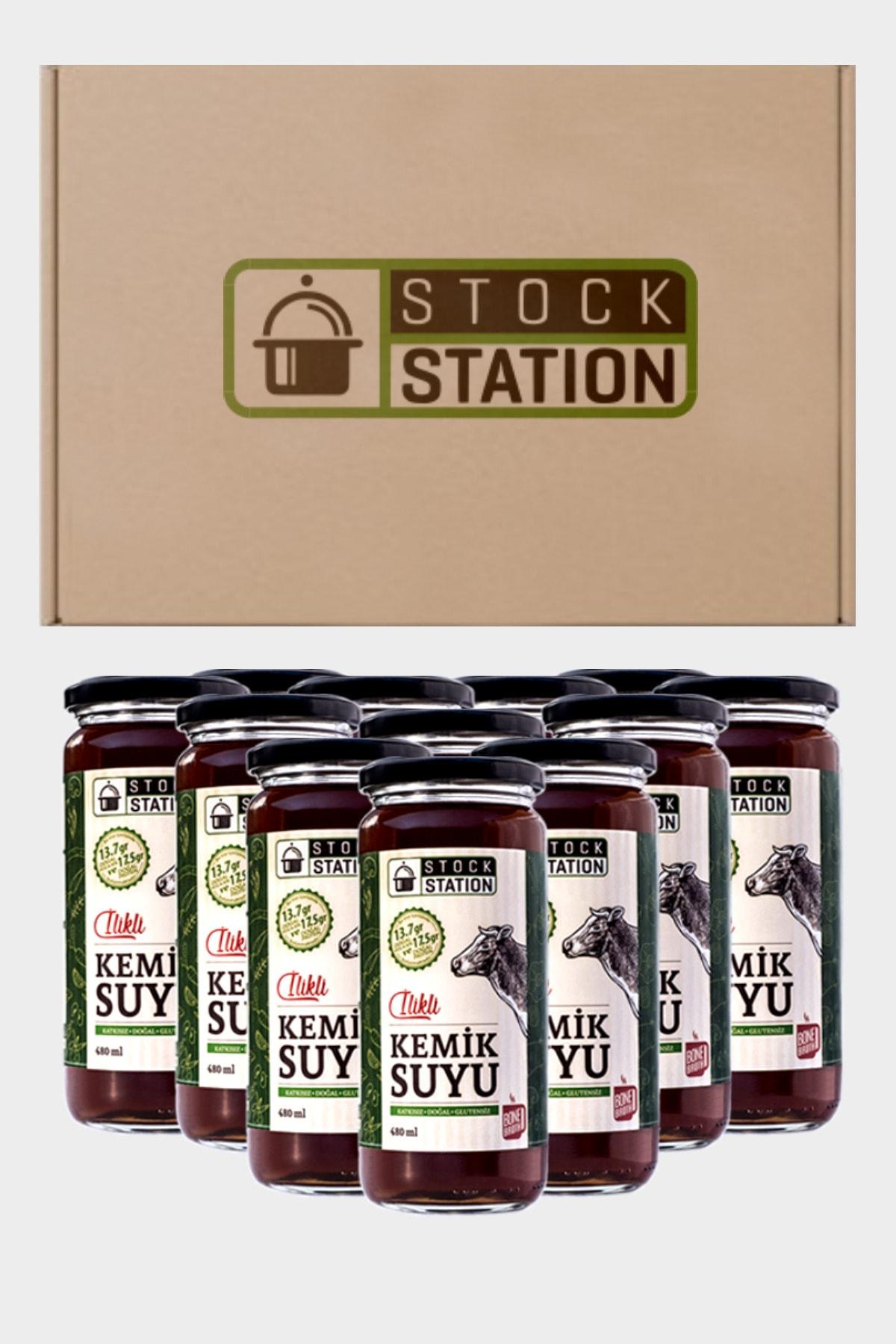 StockStation Ilikli Kemik Suyu 12 X 480 Ml 1