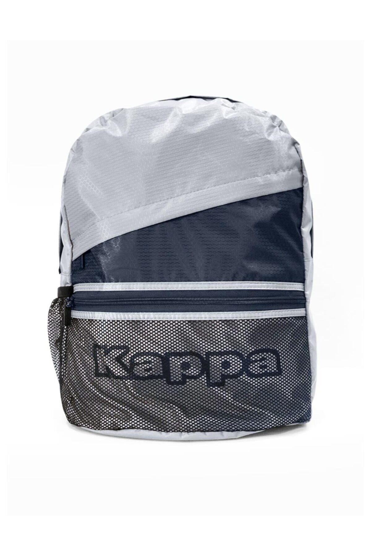 Kappa Unisex Gri Biza Sırt Çantası 1