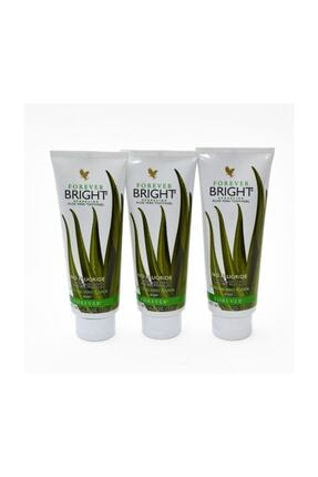 Forever Bright Diş Macunu Aloe Veralı 3 Lü Set