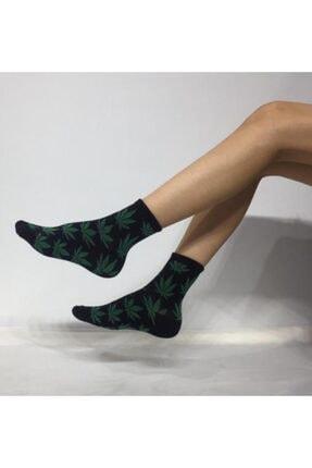 ADEL ÇORAP Kokulu Unisex Ot Desenli Kolej Çorabı