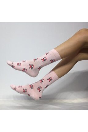 ADEL ÇORAP Unisex Super Mario Desenli Soket (Uzun) Çorap