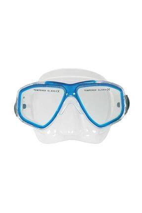 Amphibian Pro Unisex Mavi Hunter Dalış Maskesi