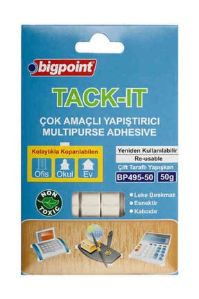 Bigpoint Tack-it Hamur Yapıştırıcı 50 gr.