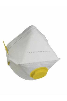 NOVUM Ffp3 N95 Maske Ventilli 50 Adet Hijyenik Tekli Paket