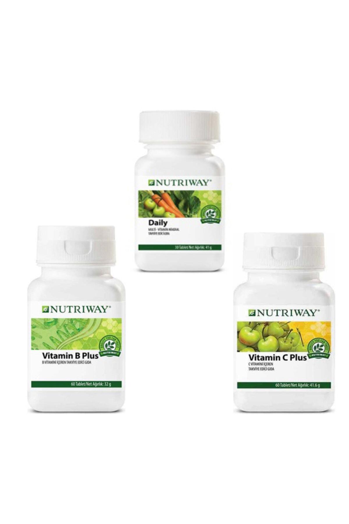 Nutriway Nutrıway Daily B Plus Cplus Nutrıway™ 3 Lü Set 1