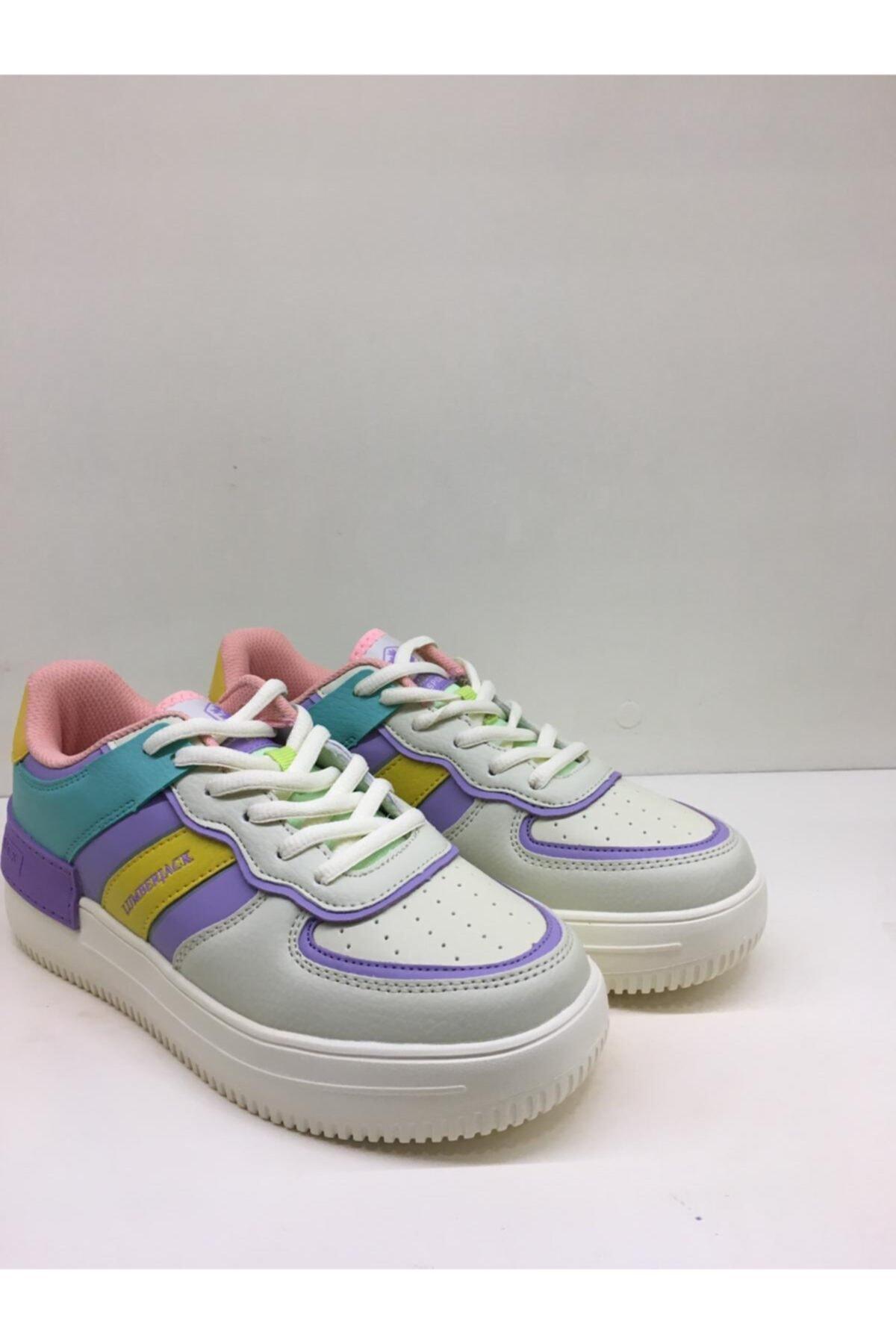 lumberjack Kadın Lila Mint Spor Sneaker Freya 1fx/100785036 2